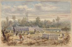 Boulcott's stockade in the Hutt Valley