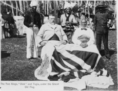 Richard John Seddon and King Togia of Niue