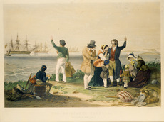 The emigrant's farewell