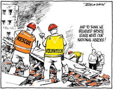 The heroes of the Christchurch earthquake