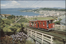 1960s Kelburn cable car