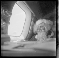 Father Christmas goes to the Chatham Islands