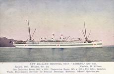 NZ hospital ship Maheno
