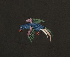 Embroidered bird Ref: D-014-007-detail-2