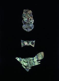 Carved paua brooches Ref: Curios-021-016