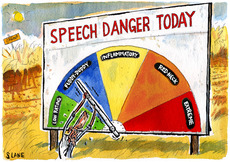 Speech danger today