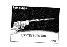 Stun of a gun