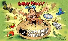 Gidday Kiwis! cartoon