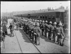 Soldiers in Wellington