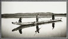 Hamaria waka on Lake Horowhenua
