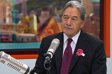 Winston Peters takes on migrants