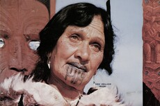 New Zealand Māori woman
