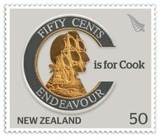 James Cook stamp