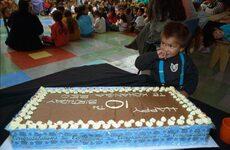 10th-anniversary birthday cake for Kōkiri Pukeatua kōhanga