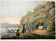 Māori at Ship Cove