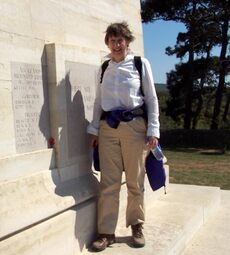 Helen Clark at Gallipoli