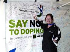 Say no to doping