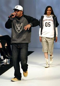 King Kapisi at New Zealand Fashion Week