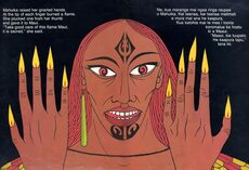 Mahuika and her fingernails of fire