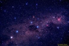 The Southern Cross and pointers