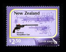 Murdoch tranquilliser gun