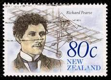 New Zealand's first flight
