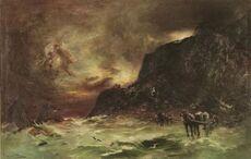 Storm at Wellington Heads