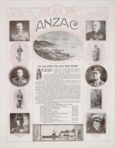 Anzac poster