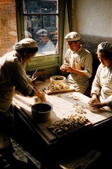 China Series: dumplings, food preparation, Peking