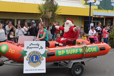 Santa - New Brighton Santa Parade