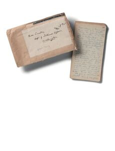 Diary, Gallipoli