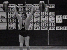Graham May, weightlifter