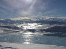 Ice lake, Antarctica