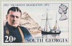 British Antarctic territory stamp