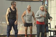 Famous actors perform in school play