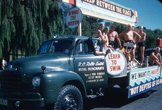 Safety Week parade float