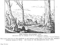 The Taita Stockade, 1846.