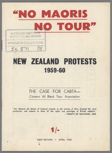 No Maoris No Tour