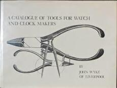 A catalogue of tools for watch and clock makers