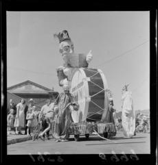 Wellington Santa Parade, sponsored by James Smiths Ltd.