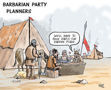 Barbarian party planners