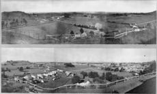 Panoramic views of Epsom and Remuera, Auckland