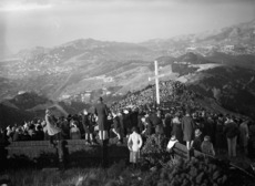 Easter service, Mount Victoria