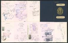 Katherine Mansfield's passport