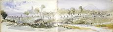 Williams, Edward Arthur, 1824-1898 :Awamutu. 18/3/1864