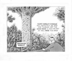 Kauri dieback cartoon