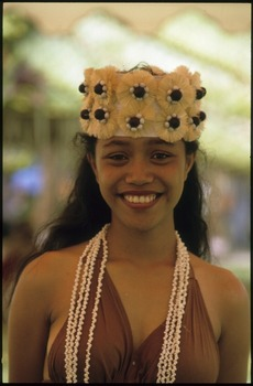 Schoolgirl from the Cook Islands