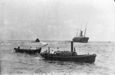 Wreck of the ship Maitai
