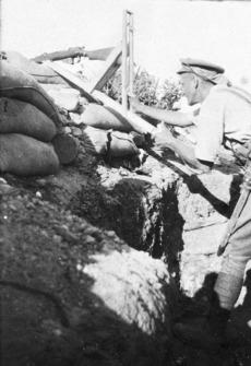 Periscope rifle, Gallipoli