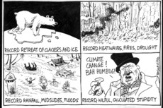 Climate change records